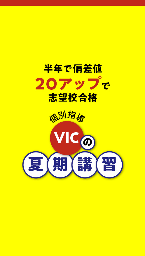 VICの夏期講習